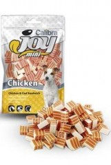 Calibra Joy Dog Mini Chicken &Cod Sandwich  70g New