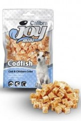 Calibra Joy Dog Mini Chicken &Cod Cube 70g New