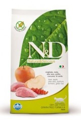 N&D GF CAT ADULT Boar&Apple 300g