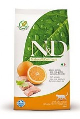 N&D GF CAT ADULT Fish&Orange 300g
