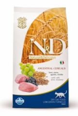N&D LG CAT ADULT Lamb&Blueberry 300g