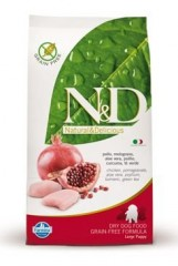 N&D GF DOG Puppy Maxi Chicken&Pomegranate 12kg