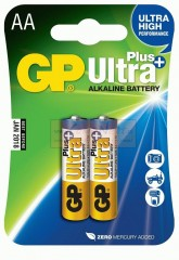 Baterie GP 1,5V ULTRA PLUS AA LR6 - 2ks