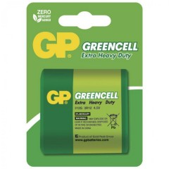 Baterie GP GREENCELL 4,5V 3R12 -1ks