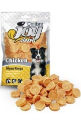 Calibra Joy DOG Classic Chicken Rings  80g New